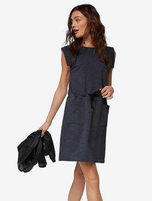 Sleeveless Sweat Dress in Soft Jersey Quality