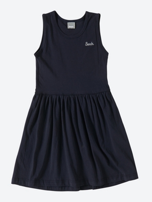 Sleeveless Dress with Melange Sweatshirt