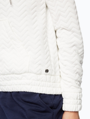 Sporty Jacket with Zigzag Quilting
