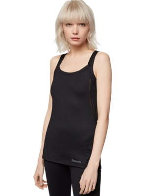 Vest with Mesh Inserts