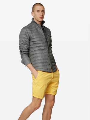 Lightweight Shirt Jacket Adornment with Breast Pocket