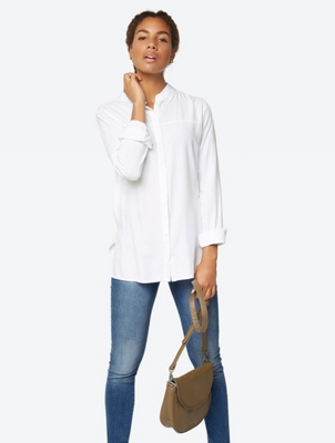 Loose Cut Long Sleeve Blouse