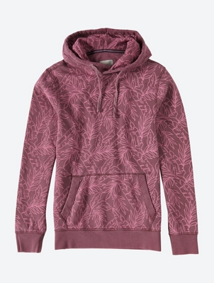 Printed Hoodie with Kangaroo Pocket