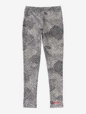 Patterned Leggings with Elasticated Waistband