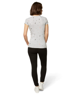 T-Shirt with Allover Print