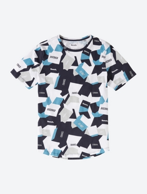 Graphic Tee with Allover Print