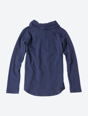 Printed Long Sleeve Shirt with Shawl Collar