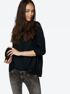 OversizedShirt with Long Sleeves