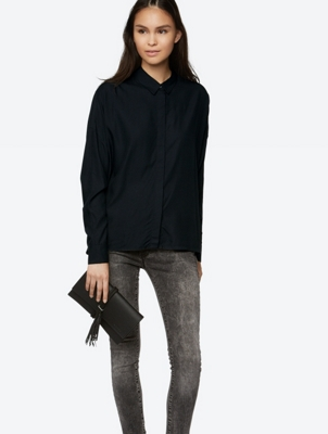 Oversized Shirt with Long Sleeves