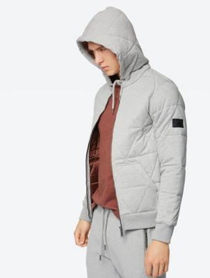 Lined Sweat Jacket Atonement with Quilted Pattern