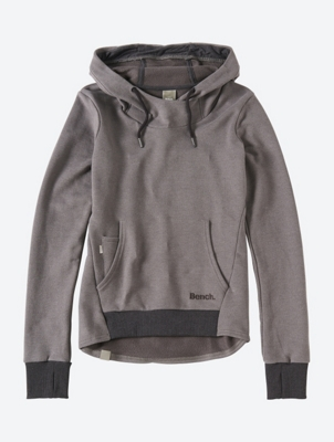 Tailored Hoodie with Thumb Holes