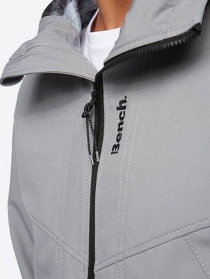 Breathable Softshell Jacket with Fleece Lining
