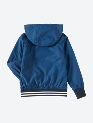 Wetterfeste Jacke mit abnehmbarer Kapuze