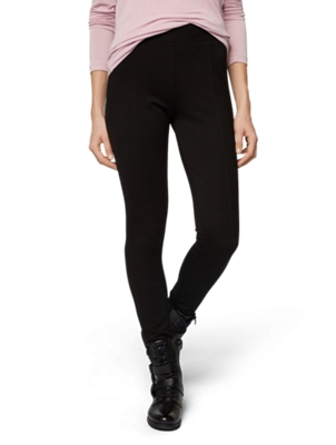 Leggings with Metal Bench Badge on Waistband