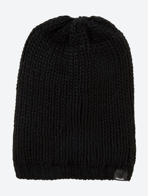Knitted Beanie with Fleece Lining