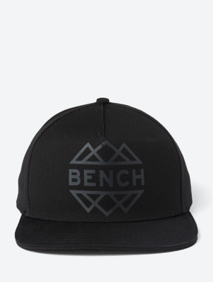 Canvas Cap with Logo-Print
