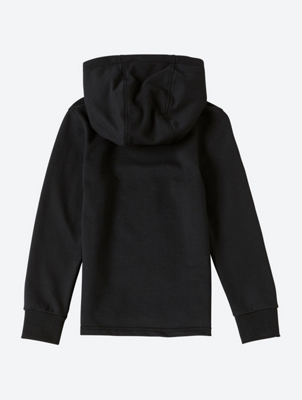 Hoodie with Brand Print on the Front