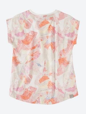 T-Shirt mit Allover Print-Rücken