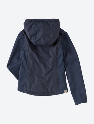 Lightweight Softshell Jacket with Quilted Inserts
