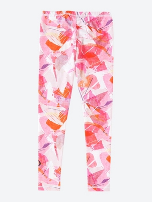 Sporty Leggings with All-Over Pattern