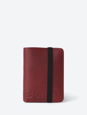 Folding Wallet with Elastic Closure Band