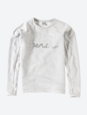 Sweatshirt with Sequin Logo