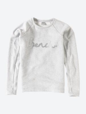 Sweatshirt mit Pailletten-Logo