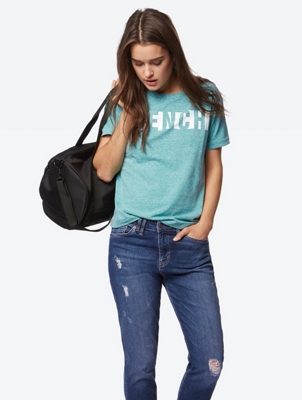 Relaxed-Fit T-Shirt with Logo Print