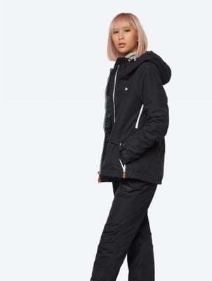 Waterproof Ski Jacket with Tone-in-Tone Lining