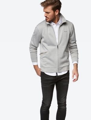 Track Jacket with Side Zip Pockets