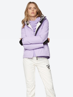 Ski-/Snowboard Jacket with Contrast Pipings