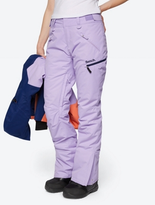 Waterproof Ski Pants with Bench Embroidery