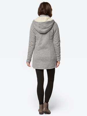 Sweatjacke in Nep-Yarn-Optik