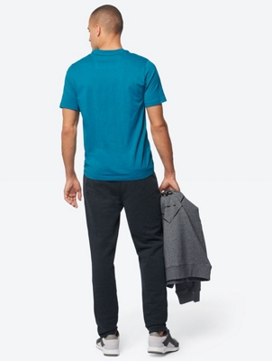 Sweatpants with Colour-Contrasting Drawstring