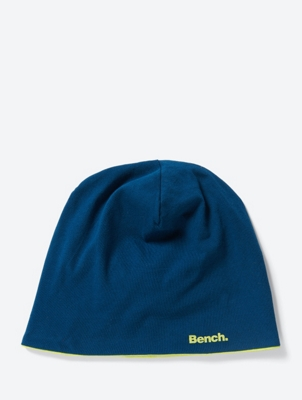 Reversible Beanie with Logo Print
