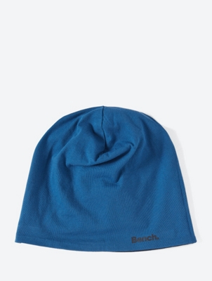Reversible Beanie with Bench-Logo Print