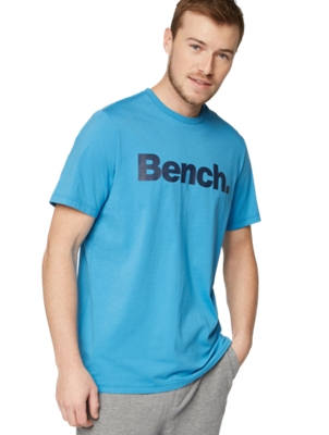 T-Shirt with Bench Print on the Chest