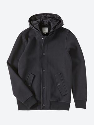 Jacke mit leichter Kapuze