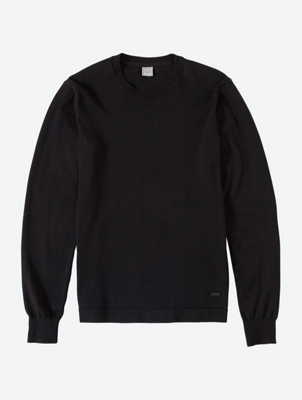 Fine Knit Jumper with Crew Neck