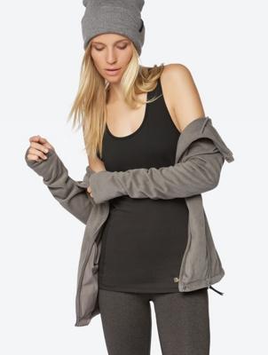 Vest in Washed Design