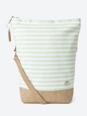 Striped Nautical Shoulder Bag