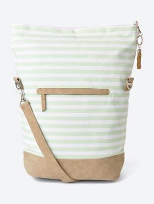 Striped Nautical Shoulder Bag