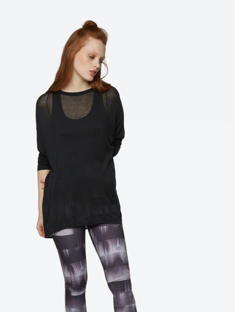 Bench Schwarz Ladies Knitwear Größe L