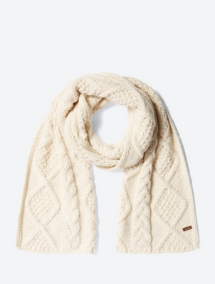 Cosy Cable Knit Scarf