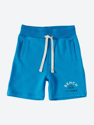 Plain Sweat Shorts with Pockets