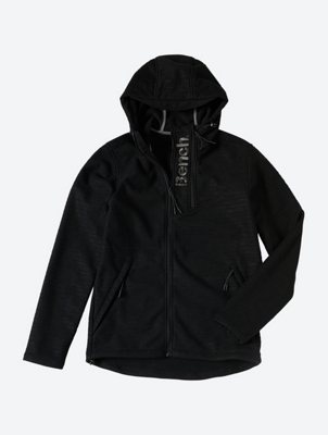 Windproof Jacket with Large Bench Embroidery on the Neck