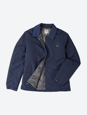 Coach Jacket with Folding Collar