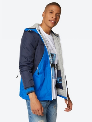 COL BLOCK JACKET