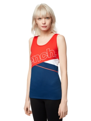 Vest with a Colour-Blocking Style