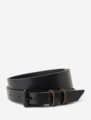 Fine Grain Leather Belt